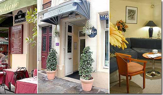 Hotel De France Quartier Latin Paris France